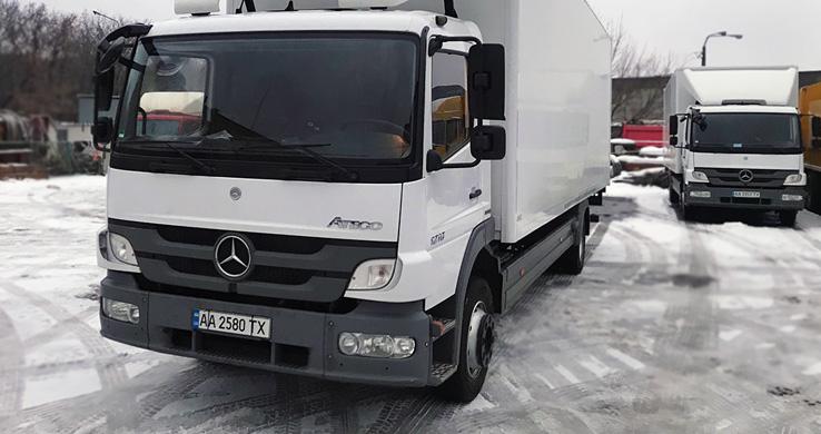 Услуги перевозки грузов по Киеву и Украине