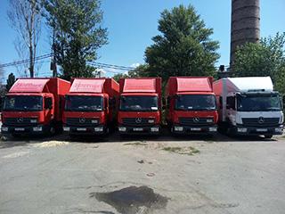Автоперевезення вантажів в Прибалтику та Білорусь